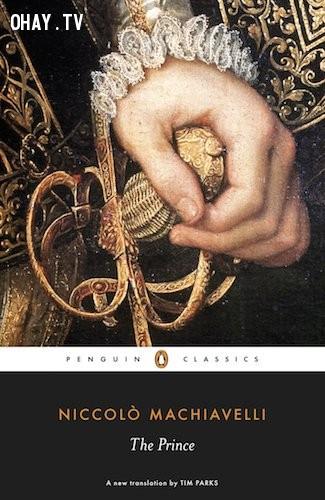 The Prince (Quân vương) - Niccolo Machiavelli,sách hay,đàn ông,đọc sách