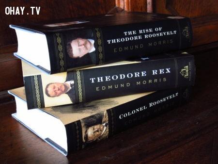 Theodore Roosevelt Trilogy (Bộ ba tác phẩm Theodore Roosevelt) - Edmund Morris,sách hay,đàn ông,đọc sách