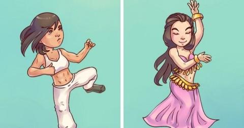9 khác biệt đáng yêu giữa phụ nữ phương Tây và phương Đông