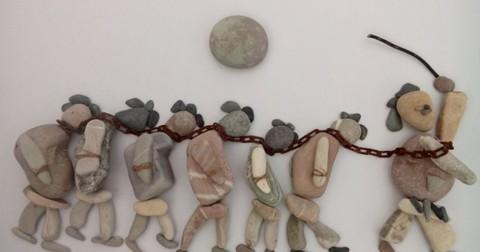 Cuộc chiến Syria nhìn từ những viên đá cuội