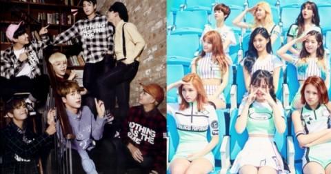 BTS vs TWICE - Trận chiến thế kỉ