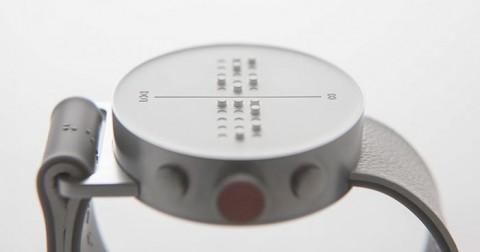 Đồng hồ thông minh chữ nổi đầu tiên trên thế giới dành cho người khiếm thị