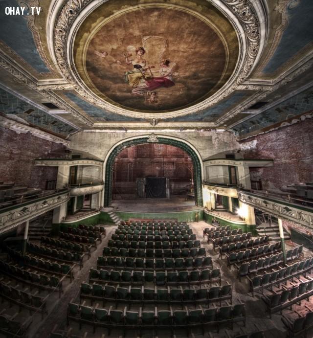 2. Nhà hát Orpheum tại Massachusetts, Mỹ,địa điểm bí ẩn,địa điểm bị bỏ hoang