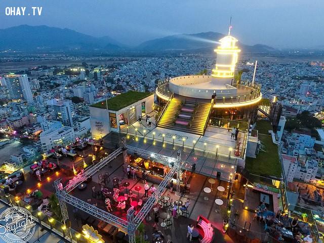 5. Skylight Nha Trang,du lịch nha trang,bar ở nha trang,vũ trường,quán bar