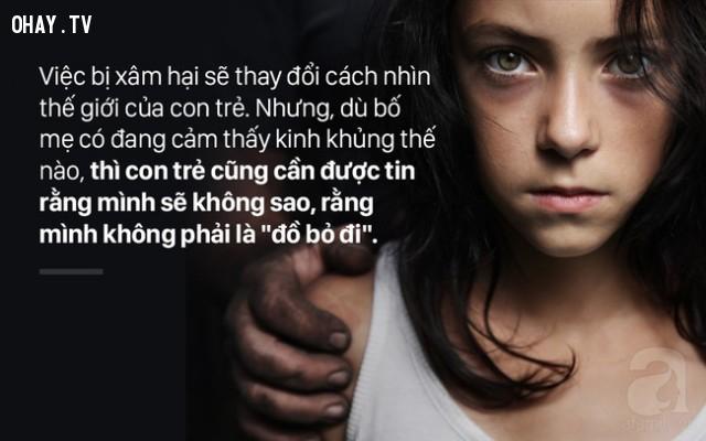 Giúp con hiểu giá trị của bản thân,lạm dụng tình dục,làm cha mẹ,nuôi dạy con cái