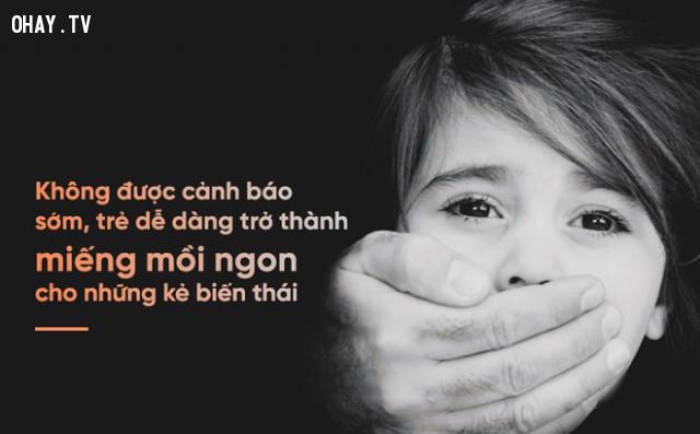 Quy tắc biết trước còn hơn khổ sau,lạm dụng tình dục,làm cha mẹ,nuôi dạy con cái