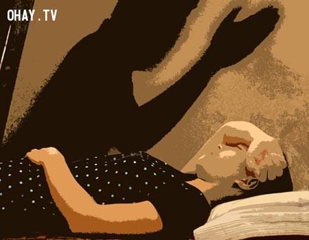 Khi bạn tỉnh dậy sau khi bị bóng đè cũng giống như vừa thức dậy sau khi chết,bóng đè,cải thiện giấc ngủ