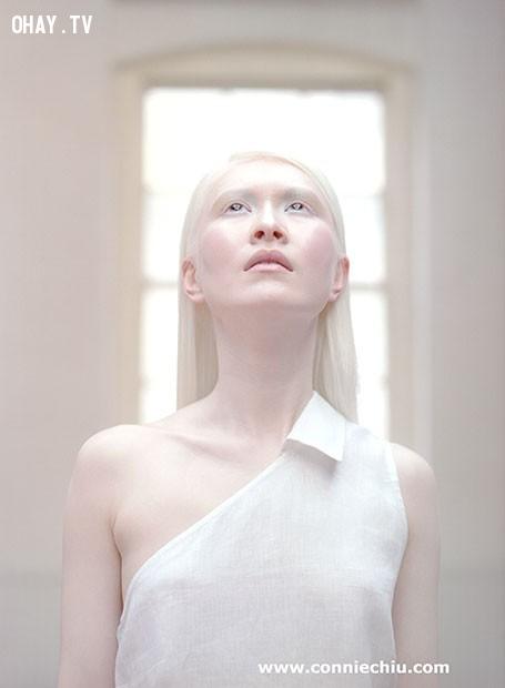 Connie Chiu,màu da,vẻ đẹp