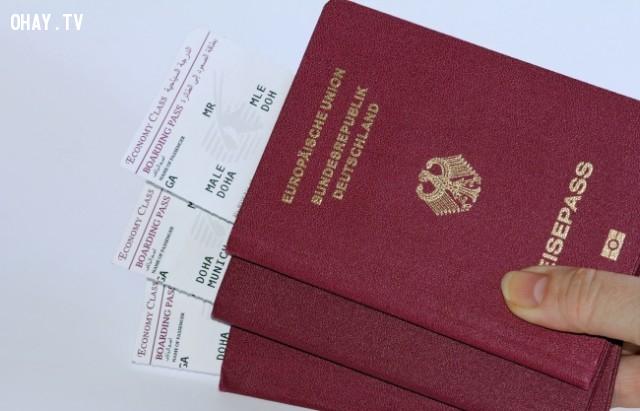 Hộ chiếu màu đỏ sẫm,hộ chiếu,passport,màu sắc