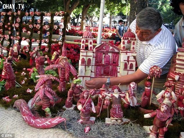 Lễ hội củ cải đỏ - Mexico,lễ hội,phong tục
