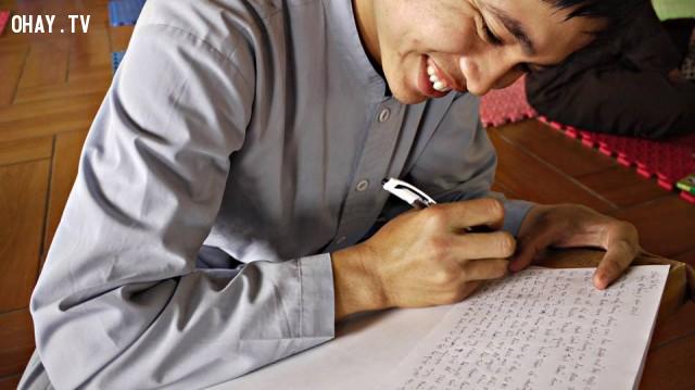 Tu sinh viết bài thu hoạch sau khi nghe Thầy giảng Pháp,khóa tu,Chùa Tứ Kỳ Hà Nội,làm sao để tĩnh tâm,thiền buông thư