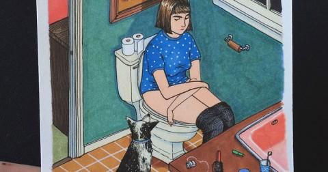 Những điều con gái làm khi ở một mình( Phần 1)