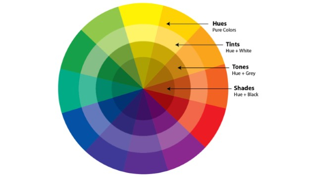 Hiểu về màu đen và trắng với màu đơn sắc (Monotone),màu sắc,cách phối màu,đồ họa,thiết kế,photoshop