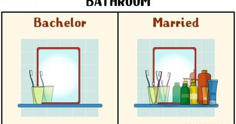 11 điều khác biệt thú vị của một người đàn ông khi lập gia đình