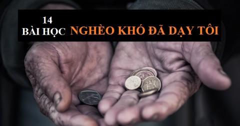 14 bài học nghèo khó đã dạy tôi