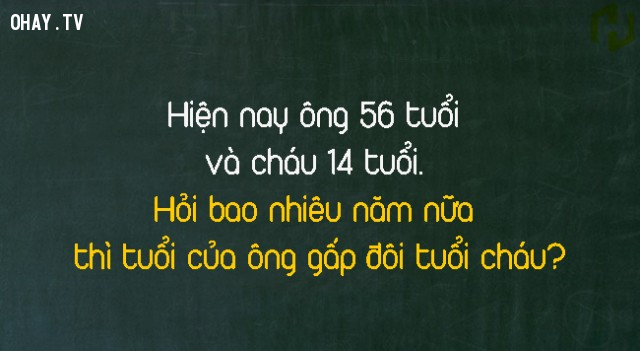 5.,trắc nghiệm vui,câu đố toán học,câu đố logic,câu đố khó,câu đố hay