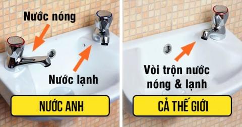 3 lý do tại sao bồn rửa của người Anh lại có 2 vòi nước