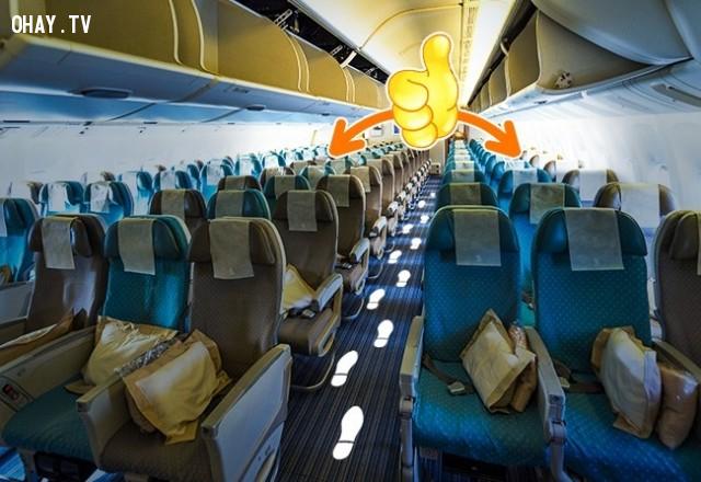 5. Dịch vụ tốt hơn khi bạn ngồi ở những hàng ghế cuối ,lưu ý khi đi máy bay,kinh nghiệm đi máy bay,những điều cần biết khi đi máy bay,cách đi máy bay