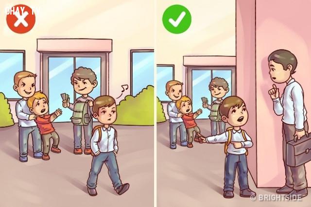 Thờ ơ trước hành động xấu.,nuôi dạy con cái,cách dạy con