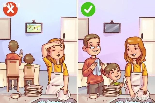 Vô tâm,nuôi dạy con cái,cách dạy con