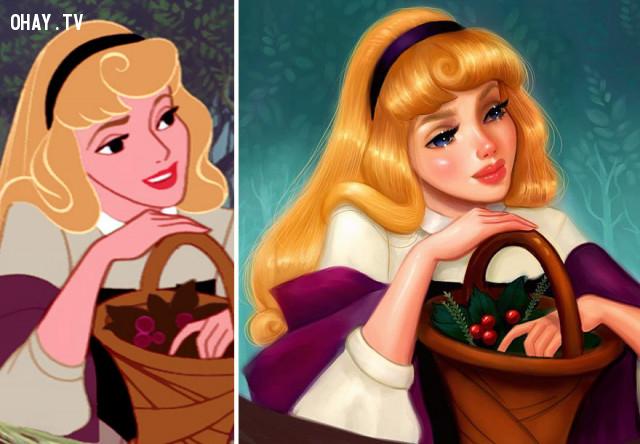 #6 Công chúa Aurora, phim Sleeping Beauty,công chúa disney,nhân vật hoạt hình
