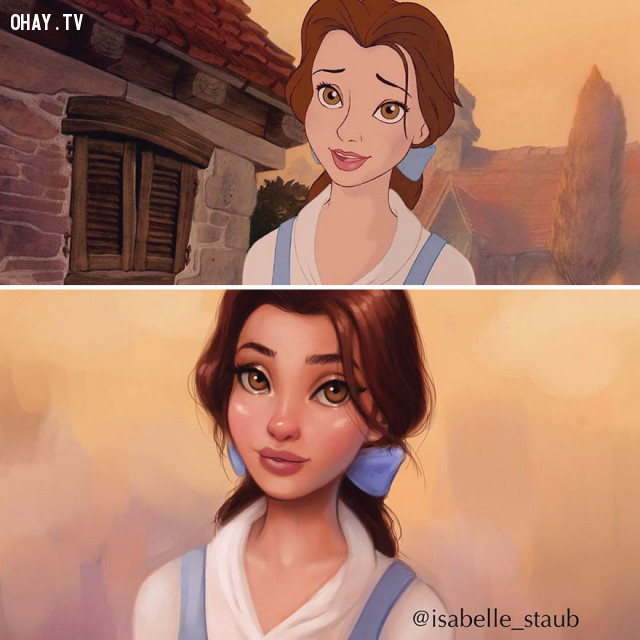 #2 Công chúa Belle, phim Beauty And The Beast