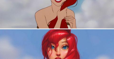 7 nàng công chúa Disney được vẽ lại chi tiết sẽ trông như thế nào?