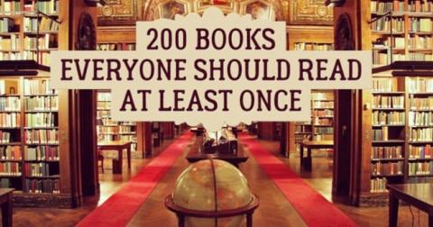 200 đầu sách quý bạn nên đọc ít nhất 1 lần trong đời