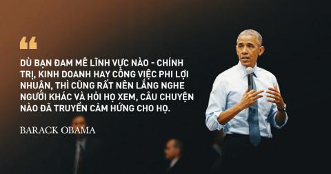 15 Câu nói truyền động lực nổi tiếng của cựu Tổng Thống Mỹ Barack Obama