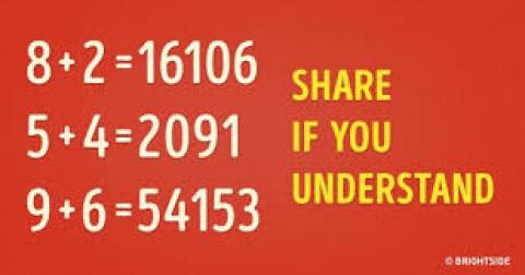 Nếu bạn giải quyết được câu đố toán học này, bạn hơn cả thiên  tài
