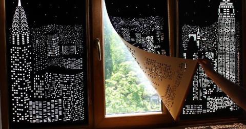 Loạt rèm cửa này sẽ cho bạn cảm giác như đang sống giữa những cao ốc