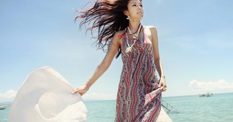 10 Mẫu váy Maxi đi biển cho các bạn nữ diệu dàng thêm sành điệu!
