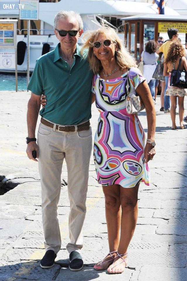 Bernard Arnault và Hélène Mercier,vợ của các tỷ phú,phụ nữ,doanh nhân,tài sản