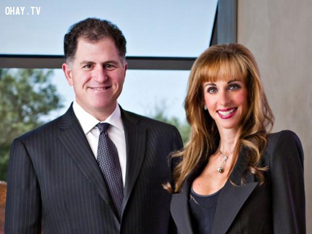 Michael and Susan Dell,vợ của các tỷ phú,phụ nữ,doanh nhân,tài sản