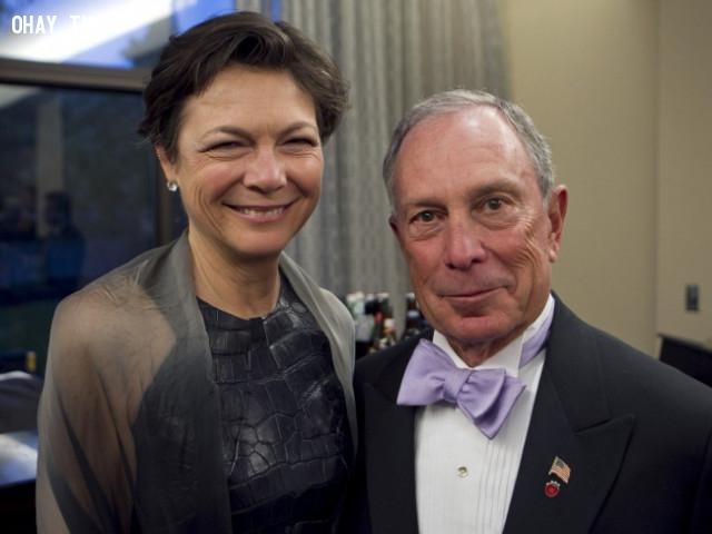 Michael Bloomberg và Diana Taylor,vợ của các tỷ phú,phụ nữ,doanh nhân,tài sản