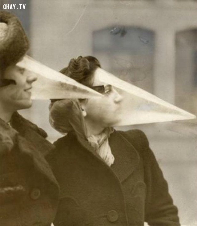 Năm 1939: miếng bảo vệ trang điểm,làm đẹp kinh dị,tiêu chuẩn cái đẹp