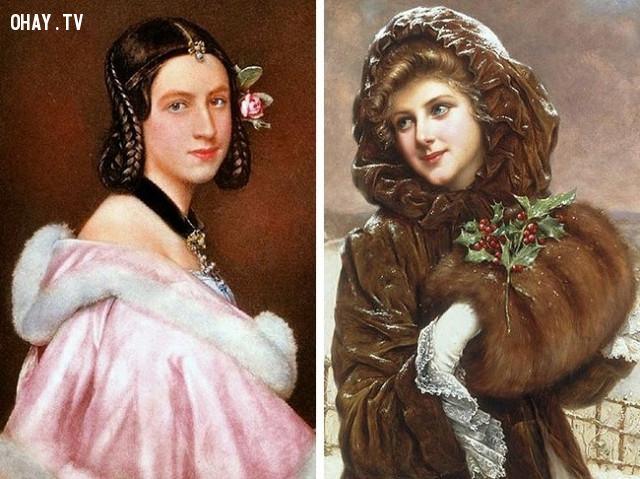 Thời kì Victoria: cắn môi,làm đẹp kinh dị,tiêu chuẩn cái đẹp