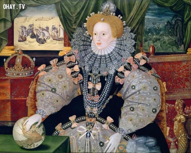 Anh Quốc, thế kỷ 17: da trắng,làm đẹp kinh dị,tiêu chuẩn cái đẹp