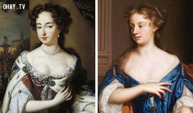 Anh Quốc, thế kỷ 17: mạch máu venous,làm đẹp kinh dị,tiêu chuẩn cái đẹp