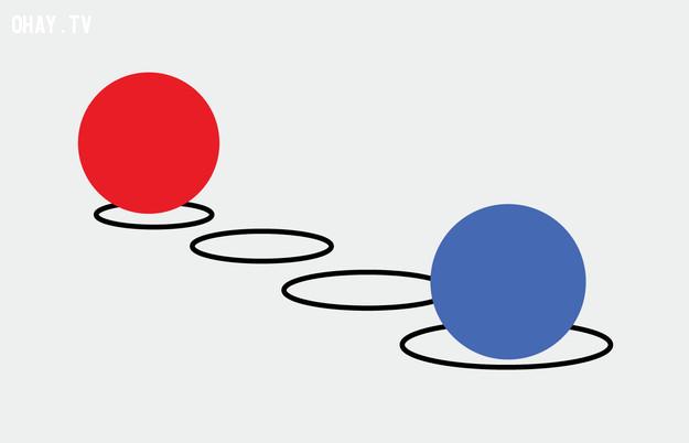 6. Hình tròn nào lớn hơn?,trắc nghiệm thị giác,thử tài tinh mắt