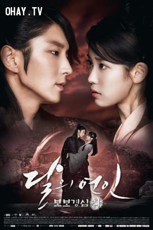 4. Người tình ánh trăng - Bộ bộ kinh tâm: Lệ (Moon lovers - Scarlet Heart Ryeo),