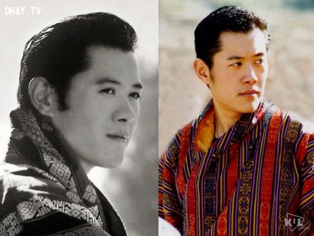 """4. Đức vua của """"quốc gia hạnh phúc nhất thế giới"""" Bhutan Jigme Khesar Namgyel Wangchuck ,thủ tướng đẹp trai,tổng thống đẹp trai,trai đẹp"""