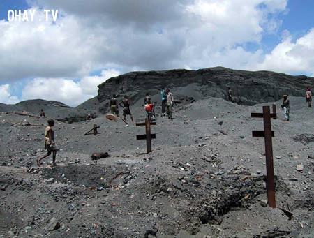 Khai thác mỏ,khoa học,trái đất,ô nhiễm môi trường