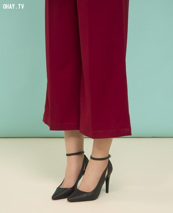 ,quần lửng ống rộng,quần culottes,quần ống sớ,quần ống rộng dài,quần ống rộng đi với giày gì