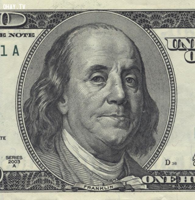 Franklin - Người xuất hiện trên tờ tiền đô của Mỹ, bạn nghĩ người này là ai?,những điều thú vị trong cuộc sống