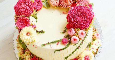 Tổng hợp những chiếc bánh kem lý tưởng cho người yêu thiên nhiên (phần 2)