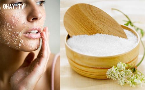 2. Tẩy tế bào chết,dưỡng da,bảo vệ làn da