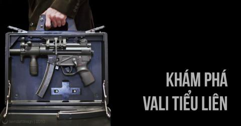Bên trong vali tiểu liên của các điệp viên có gì?