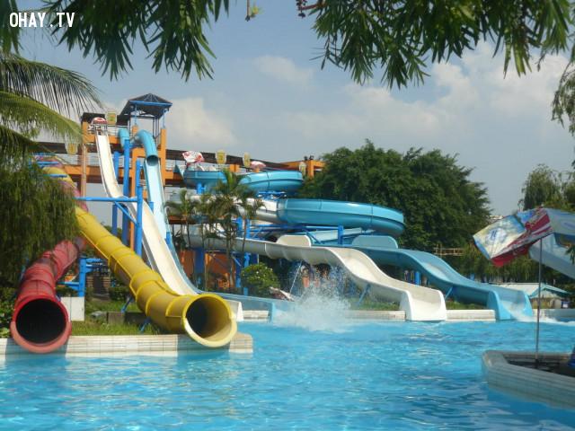 2. Công viên nước Hồ Tây Hà Nội,công viên giải trí,du lịch việt nam