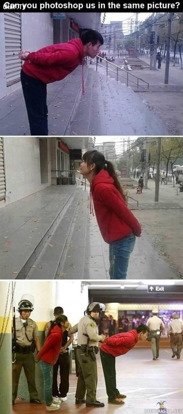 """4. """"Bạn có thể Photoshop giúp tôi và bạn gái cùng trong một bức hình?"""","""